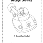 George Shrinks Guided Reading Packet with Lesson Plans for 5 Days