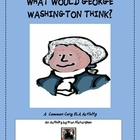 George Washington/ Presidents&#039; Day  Common Core Writing Prompt