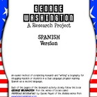 George Washington Spanish Research: Sentence Stem and Cloz
