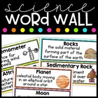 Georgia 3rd Grade Science Word Wall