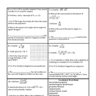 Georgia Accelerated Math 1 Targets Set 9