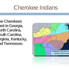Georgia Cherokee Indians PowerPoint