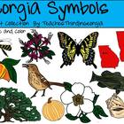 Georgia Symbols Clip Art Collection-Commercial Use Graphics