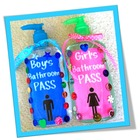 Germ X Bathroom Pass Printable