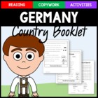 Germany Copywork and Activities