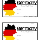 Germany: Review Study Guide Booklet