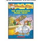 Geronimo Stilton's The Enormouse Pearl Heist Unit Journal