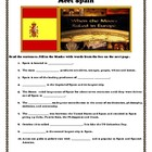 Get Acquainted with Spain: Student Activities