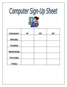 Get Organized!  Printables for the Teacher Before School Starts!