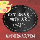 Get Smart with Art Game- Kindergarten