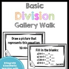 Get Up and Move! {A Basic Division Gallery Walk}