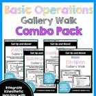 Get Up and Move! {A Basic Operations Gallery Walk Bundle!}