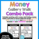 Get Up and Move! {A Money Gallery Walk COMBO PACK}
