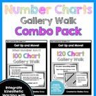 Get Up and Move! {A Number Chart Gallery Walk COMBO PACK}