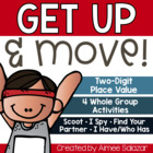 Get Up and Move! Whole Group Activities for 2-Digit Place