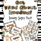 Get Wild About Reading Dewey Signs Pack