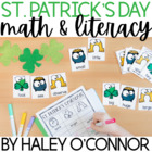 Get Your Irish On! Literacy Centers for March