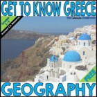 Free  - Greece Geography PowerPoint