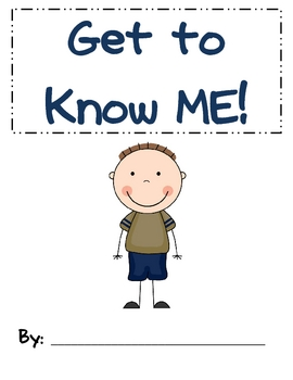 Get to Know ME book