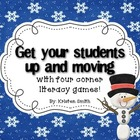 Get your students up and moving with literacy games!