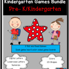 Getting Ready For Kindergarten Bundle
