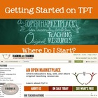 Getting Started on TPT: 25 Pages of Tips for Creating & Se