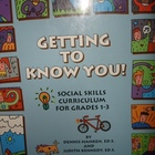 """Getting To Know You"" Social Skills Curriculum Grades 1-3"
