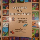 """Getting To Know You"" Social Skills Curriculum Grades 4-5"
