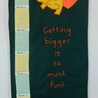 """Getting taller is so much fun!"" Elephant Wall Growth and"