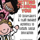Getting to Know You! {30 Icebreakers &amp; Team Building Activities}