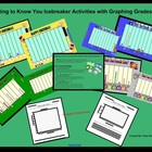Getting to Know You Icebreaker Activities w/ graphing usin