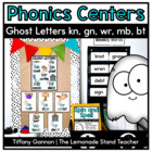 Ghost Letters Word Work Activities {Silent Letters}