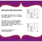 Ghostie Bookmark Freebie