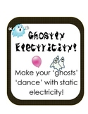 Ghostly Static Electricity! Halloween fun Scientific Metho
