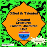 Gifted and Talented - Created Creature Talents Unlimited Unit