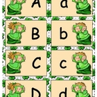 Giggly Games Sunny Shamrocks Alphabet Match Game
