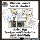 Gilded Age Immigration &amp; Urbanization Jacob Riis Lecture &amp;