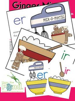 Ginger Mixer - A Poster, Game & Literacy Pack to Teach er & ir