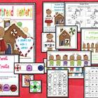 Gingerbread Centers for Math and Literacy