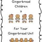 Gingerbread Children