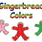 Gingerbread Colors Shared Reading PowerPoint Kindergarten-