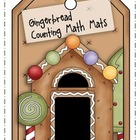 Gingerbread Cookie Counting Math Mats
