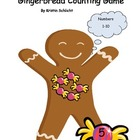 Gingerbread Counting Matching Numbers, Number Sets 1-10
