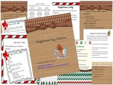 Gingerbread Day Stations & Activities