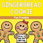 Gingerbread Description Freebie