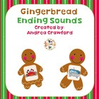 Gingerbread Ending Sounds Match Game