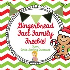 Gingerbread Fact Family!