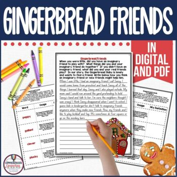 Gingerbread Friends Guided Reading Unit by Jan Brett