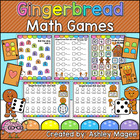Gingerbread Friends Math Games