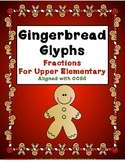 Gingerbread Glyphs for Upper Elementary Students - Fractions